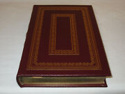 Signed First Edition Easton Press Lying Stones Marrakech Gould Leather Fine Rare