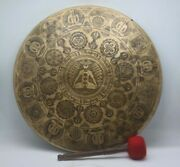 20 Inch Handmade Gong Bell Special Hand-carved Tibetan Gong Bell Meditation