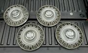 Set Of 4 - 1965 Ford Mustang Hubcaps Wheel Covers 14