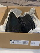 Adidas Yeezy Boost 350 Pirate Black 2016 Sz 12 Deadstock Bb5350 100 Authentic