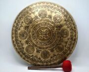 18 Inch Gong Bell Handmade In Nepal Prayers Gong - Meditation - Home And Living