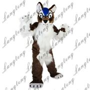 2020 Wolf Dog Mascot Costume Suits Cosplay Party Game Dress Outfits Clothing Ad