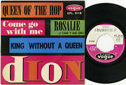 Dion Queen Of The Hop / Rosalie / Come Go With Me +1 Ep 45tours Franandccedilais Ex