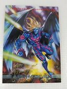 Signed By Joe Phillips - 1993 Marvel Masterpieces Card 16 Archangel - Mint