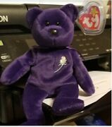 Princess Diana Beanie Baby, With Di Stamps - Authenticated,ty