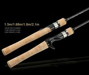 Ultra-light Spinning Casting Cork Fishing Rod 5and039 5.5and039 6and039 7and039 Pike Trout Panfish