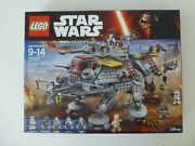 Lego Star Wars 75157 Captain Rexand039s At-te Sealed New Free Us Shipping