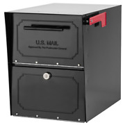 Post Mount Parcel Mailbox With Reinforced Lock Oasis Classic Locking Mail Box