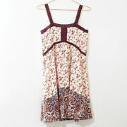 House Of Harlow 1960 Empire Waist Floral Dress