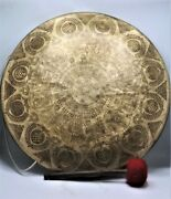 23 Inch Large Gong Bell Special Hand-carved Gong Meditation Home And Living