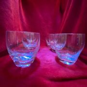 """A Set Of Six 6 Lalique """"highland"""" Pattern Whisky Tumblers Dating To Circa 1960"""