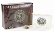 Lionel Century Club 2001-2005 Commemorative Wooden Jewelry Box Paperweight And Pin