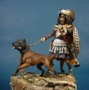 Carthaginian Veteran With Dog Painted Tin Toy Soldier Pre-sale | Art Quality