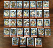 1972 Sunoco Football Stamps - New England Patriots Lot Of 32 Elvin Bethea