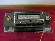 1978-87 Used Chevy Delco Gm Am/fm Car Radio Gm7898440 Serial1015148 For Parts
