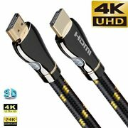 Hdmi Cable Audio Video 4k 120hz For Samsung Lg Sony Tcl Ps5 Ps4 Splitter Lot