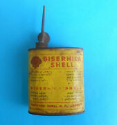 Ww2 Independent State Of Croatia Vintage Shell Bisernica Handy Oiler Tin Oil Can