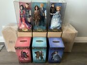 Disney Designer Fairytale Collection Lot Of All 5 Sets Matching Numbers 495/6000