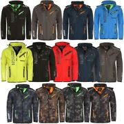 Geographical Norway Menand039s Softshell Outdoor Rain Sports Hiking Functional Jacket
