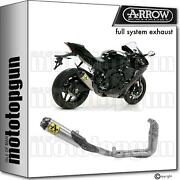 Arrow Full System Competition Evo 2 Works Titanium Cc Yamaha Yzf R1 2020 20