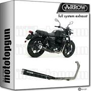 Arrow Hom Full System Nocat Rebel Black Moto Guzzi V7 Iii 2019 19