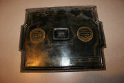 Vintage Award Cast Iron Plate Cover B.b. Hill Mfg 1884-5 Exposition Gold Medal
