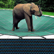 Loop-loc - 20 X 40 Blue Mesh Rectangle Safety Cover For Inground Pools - Llm1211