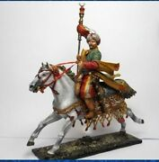 Tin Toy Soldiers Elite Painted 54 Mm Mamluk With Bunchuk. Ottoman Empire. 18th C