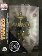 Rare Exclusive New Disney Store Marvel Select Thanos Action Figure Infinity War