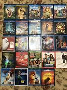 Disney Bluray Lot 25 Movie Collect Diamond Edition Toy Story Lion King No Code