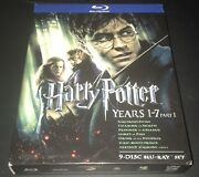 Harry Potter Years 1-7 Part 1 [blu-ray] 9 Disc Set