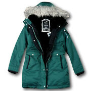 Nwt Hollister By Abercrombieandfitch Womenand039s Cozy Lined Down Parka Fur Jacket