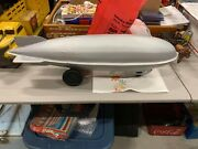 Vintage Pressed Steel Zeppelin Toy