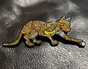 Phish Band Ocelot Variant Firecat Collectible Pin Le 150 By Danny Steinman New