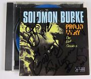 Solomon Burke Signed Autograph Proud Mary The Bell Sessions Cd