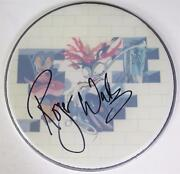 Roger Waters Pink Floyd Signed Autograph The Wall 12 Drum Head Fa Loa