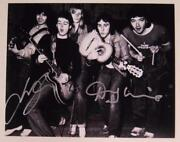 Paul Mccartney And Wings Signed Autograph 8x10 Photo By 3 Members Beatles Related