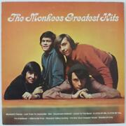 The Monkees Signed Autograph Greatest Hits Lp By 4 Davy Jones, Peter Tork +