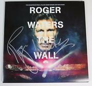 Roger Waters Pink Floyd Signed The Wall Live Album Vinyl Record Lp Fa Loa