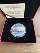 2018 30 Arctic Animals And Northern Lights Polar Bear Pure Silver Coin