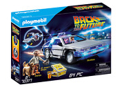 Playmobil Back To The Future Delorean Playset - 70317 Gift Set
