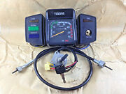 Yamaha Yb100 Deluxe Dt100 L2sn Rx100 Speedometer Assy Ignition Switch Cable Set