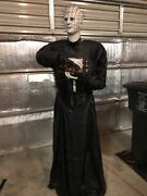Gemmy Life Size Hellraiser Bloodline Animated Pinhead Halloween Motion Activated