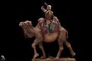 Persian Battle Camel Painted Tin Toy Soldier Pre-sale   Art Quality