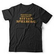 Written And Directed By Steven Spielberg Tshirt Unisex And Kids - Funny Movies