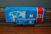 Con-cor N Scale Bay Window Caboose Great Northern