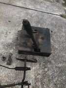 John Deere Lawn Tractor Mower Brake And Clutch Pedal Deck Lift Assembly 112l