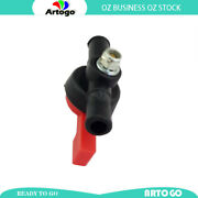 Motorcycle 8mm Fuel Tap In Line On/off Black Fit Stationery Engines Generators