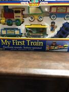Vintage Rare Toy State My First Abc Kid's Express G Gauge Scale Train Set