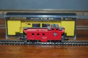 Bachmann N Scale A.t.ands.f. Santa Fe 36' Steel Caboose